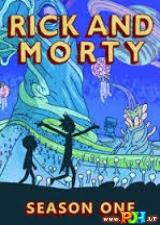 Rikas ir Mortis (1 Sezonas) (2013)