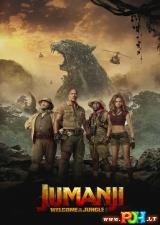 Džiumandži: sveiki atvykę į džiungles (2017)