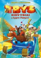 Trys didvyriai ir Egipto princesė (2017)