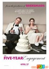 Susižadėję penkerius metus